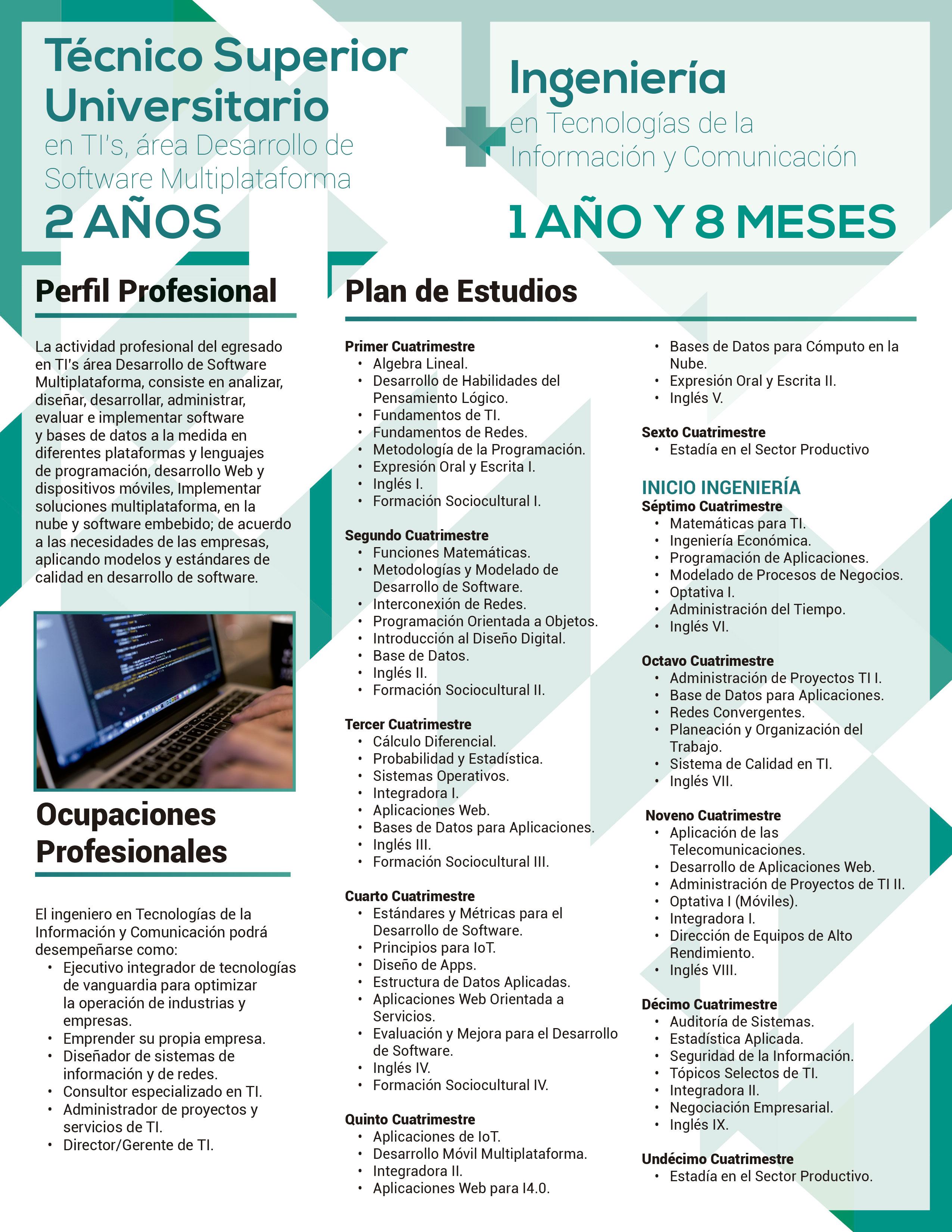 Ingeniería En Tecnologías De La Información Y Comunicación