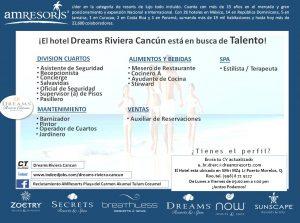 vacantes-dreams-rivera-cancun