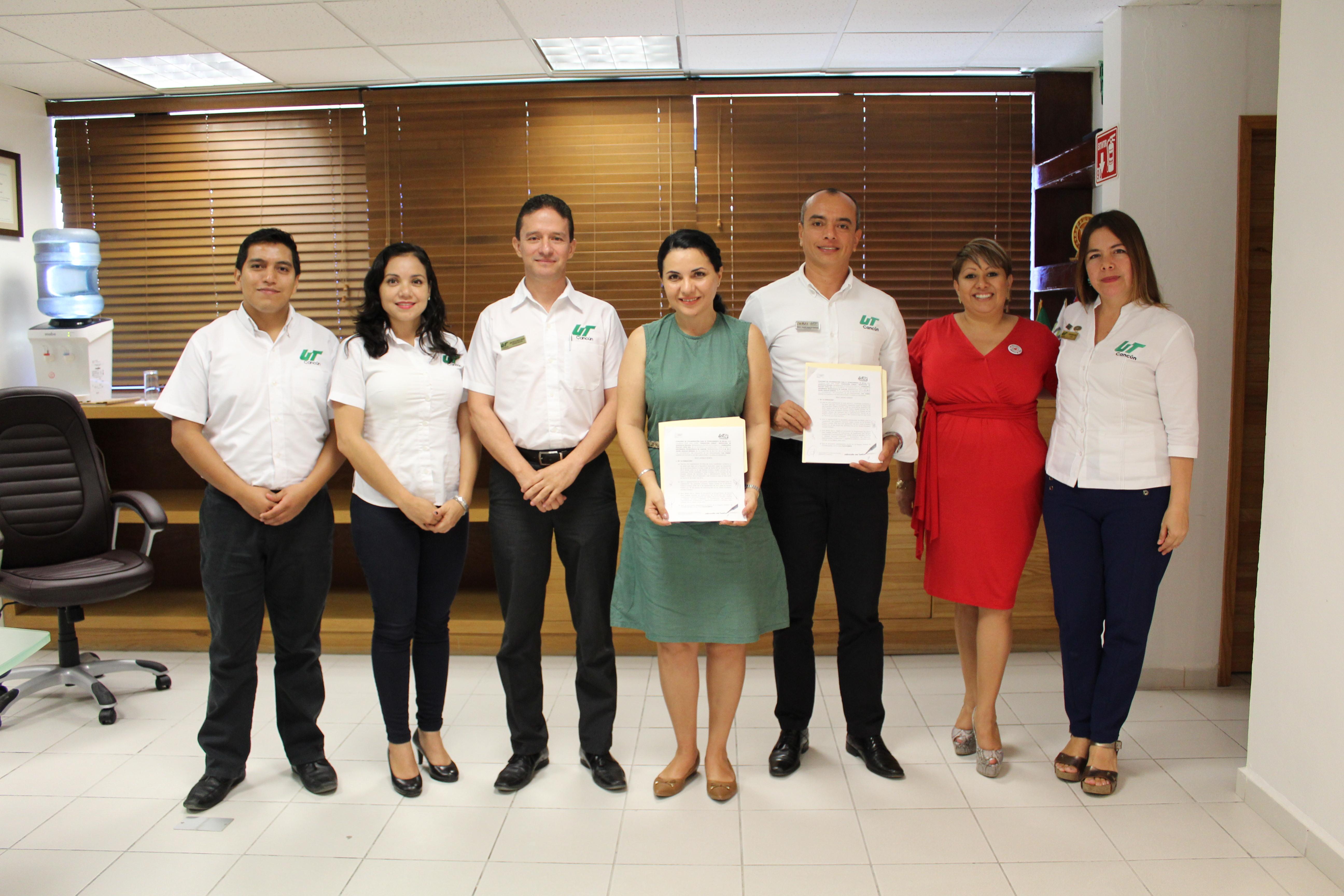 Convenio Fundación Lomas y UT Cancún