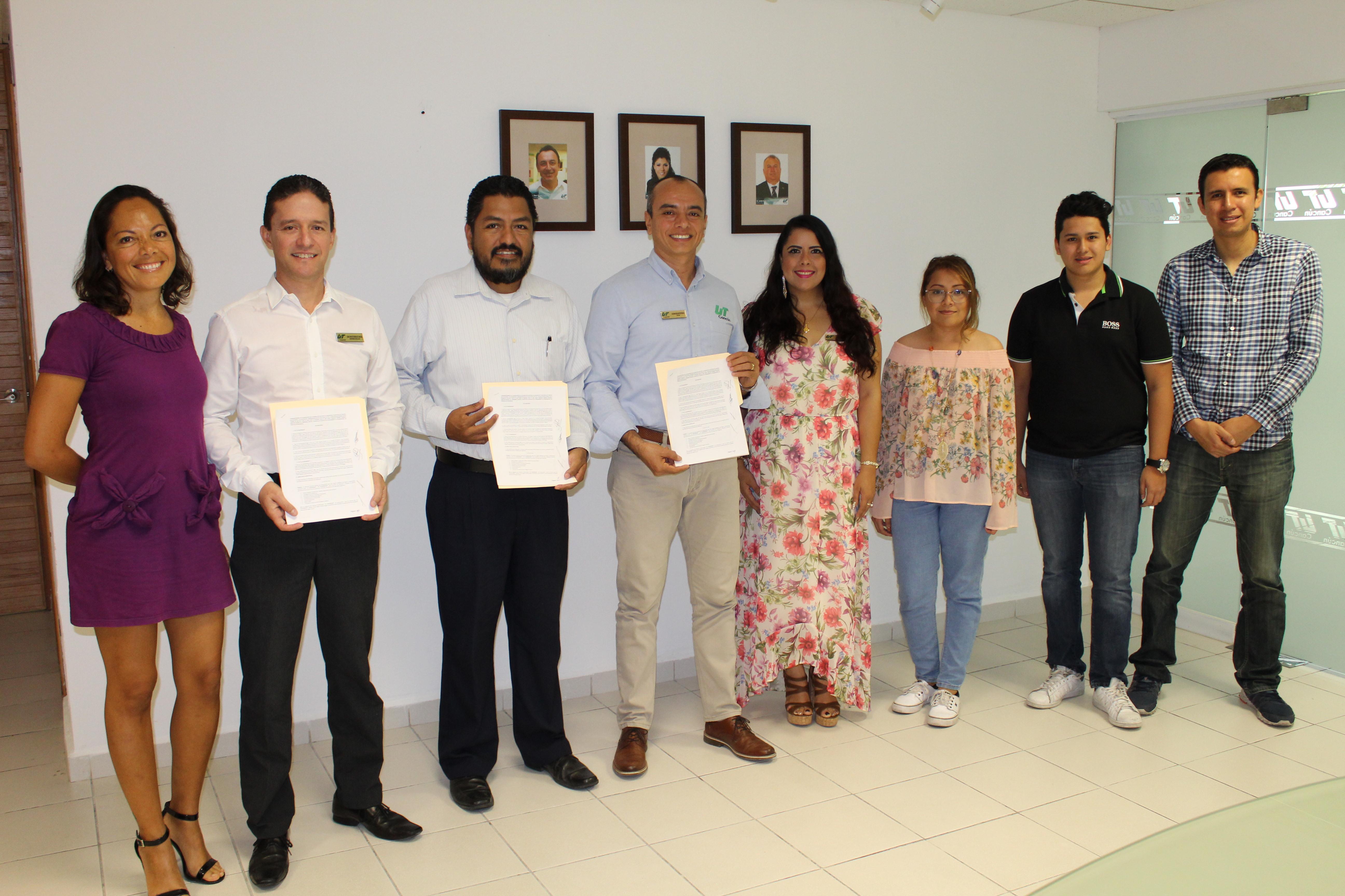 Convenio Emprende Cancún y UT Cancún
